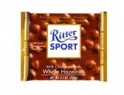 Шоколад Ritter Sport молочный с лесными орехами 100г