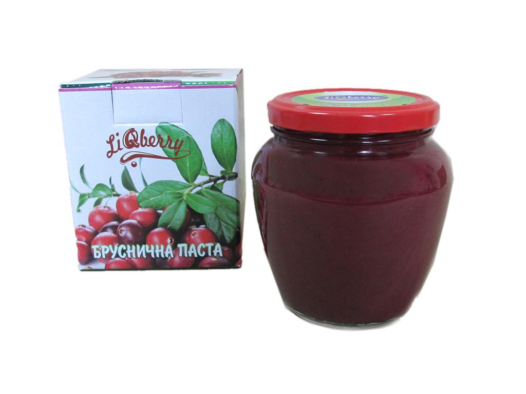 Брусничная паста LiQberry 550г