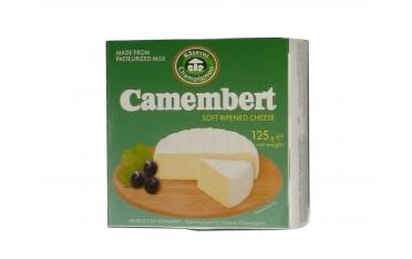 Сыр Камамбер Kaeserei Champignon 50% мягкий с плесенью 125г