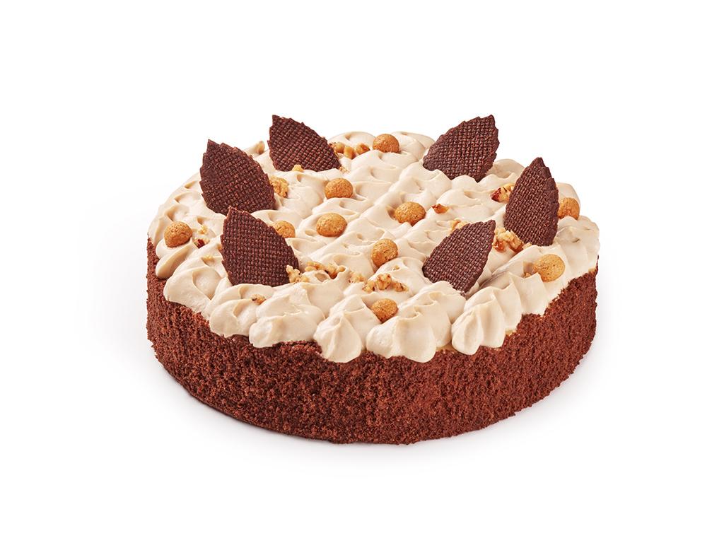 Шоколадно-арахисовый торт 1кг