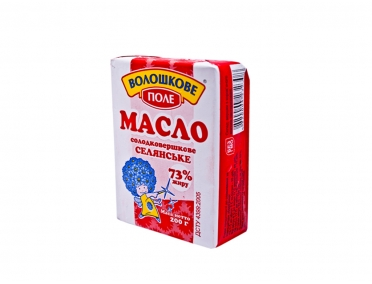 Масло сливочное «Волошкове поле» 73% 200г