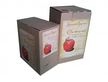 Сок «Золотой Пармен» яблочний органический 3л