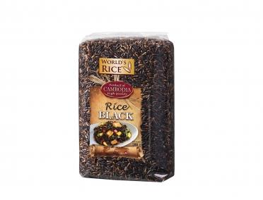 Рис «World's rice» черный 500г