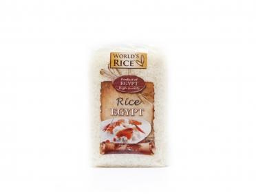 Рис «World's rice» египетский 500г