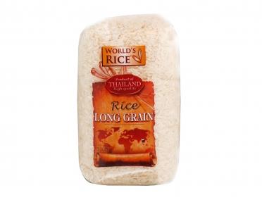 Рис «World's rice» длиннозернистый 1кг