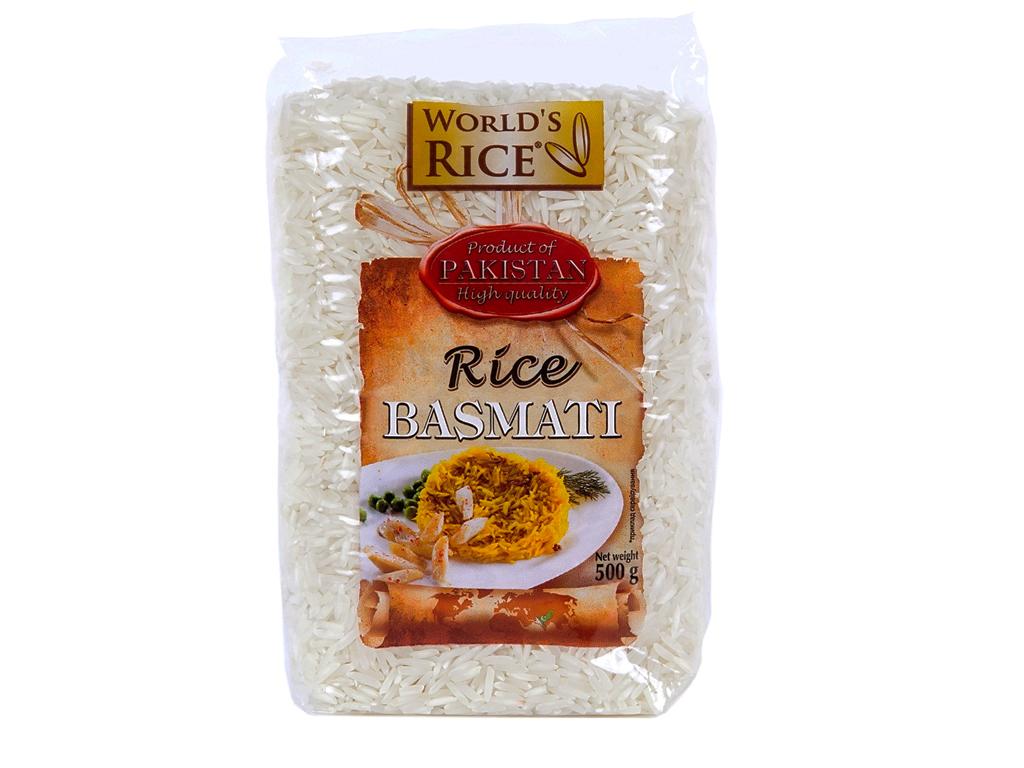 Рис «World's rice» басмати 500г
