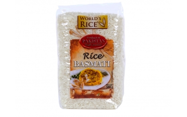 Рис «World's rice» басмати 500г