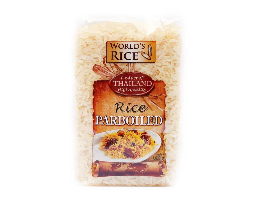 Рис «World's rice» парбоилд 1кг