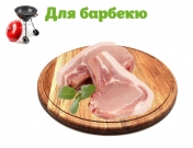 Антрекот свиной с овощами (на 6 персон)