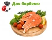 Стейк лосося с овощами (на 6 персон)