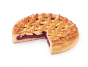 Пирог с вишней 800г