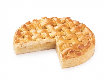 Пирог с яблоком и лимонным кремом 800г
