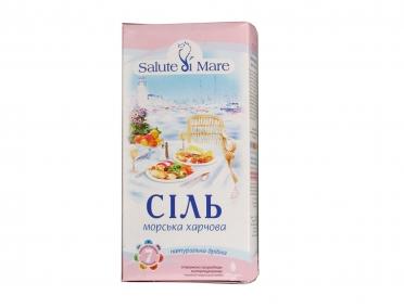 Соль Salute di Mare морская пищевая мелкая 750г
