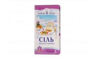 Соль Salute di Mare морская пищевая крупная 750г