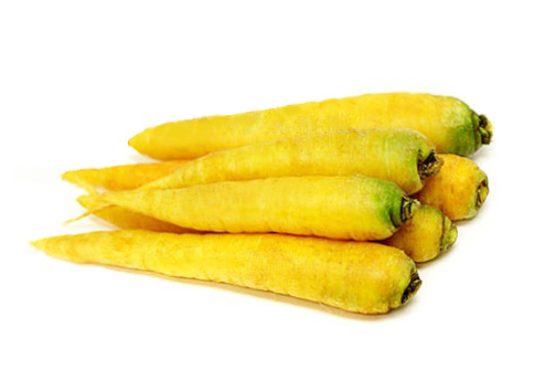 Морковь желтая