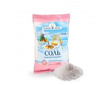 Соль Salute di Mare морская пищевая мелкая 600г