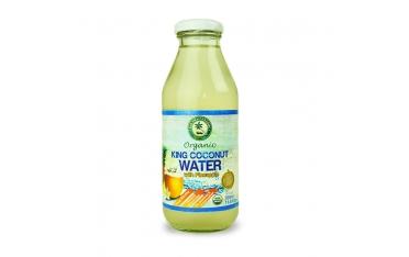 Кокосовая вода с ананасом органическая 350мл
