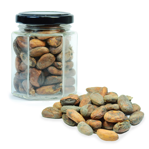 Какао бобы натуральные сырые 90г