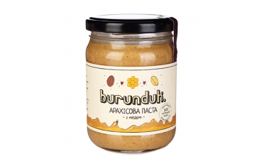 Арахисовая паста с медом Burunduk 250г
