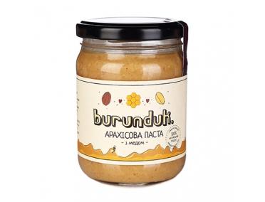 Арахисовая паста с медом Burunduk 450г