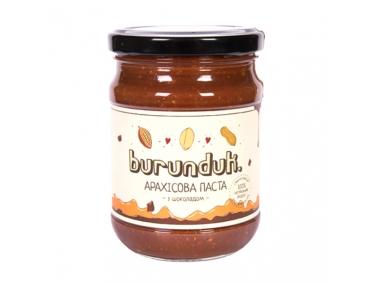 Арахисовая паста с шоколадом Burunduk 250г