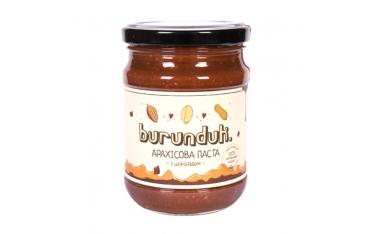 Арахисовая паста с шоколадом Burunduk  450г