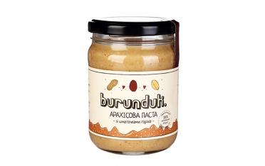 Арахисовая паста с кусочками арахиса Burunduk  250г
