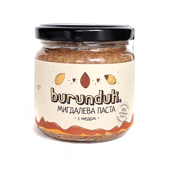 Миндальная паста с медом Burunduk 180г