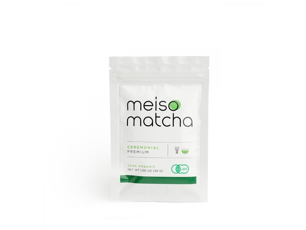 Чай матча Meiso Matcha Ceremonial Premium 30г