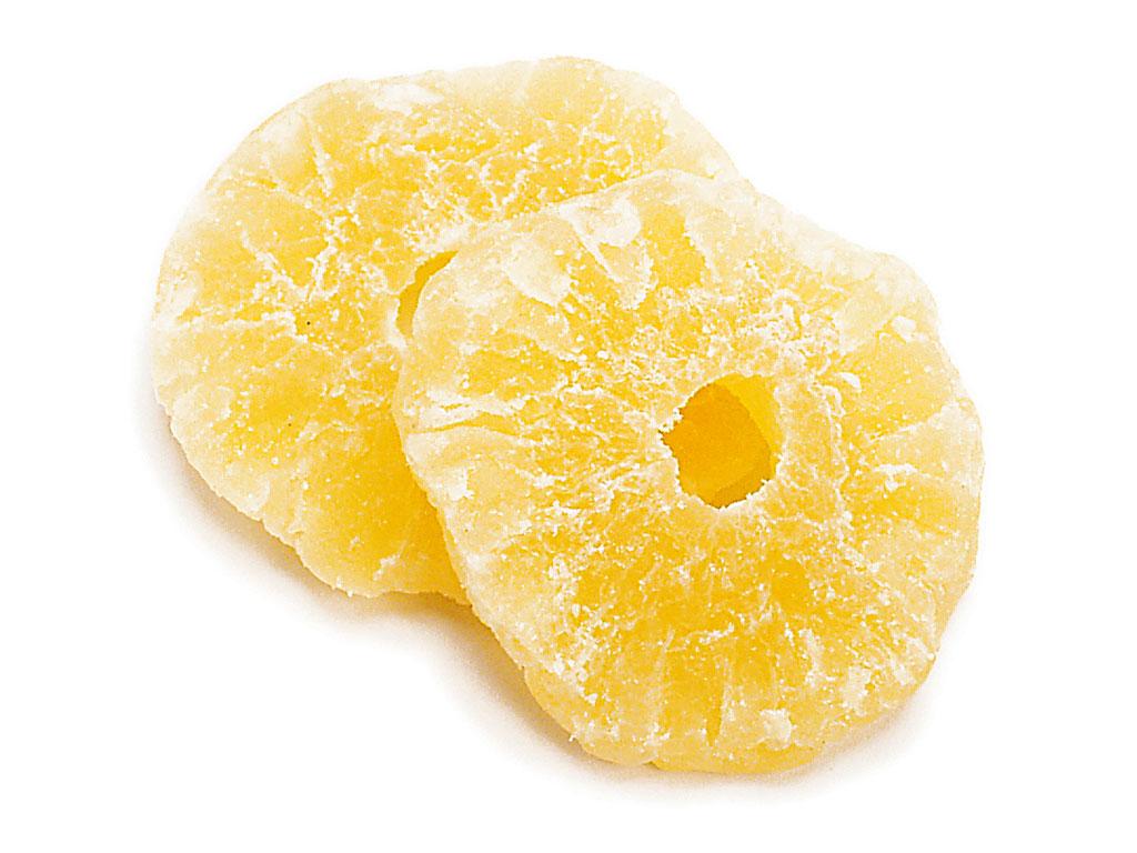 Цукаты ананаса кольца
