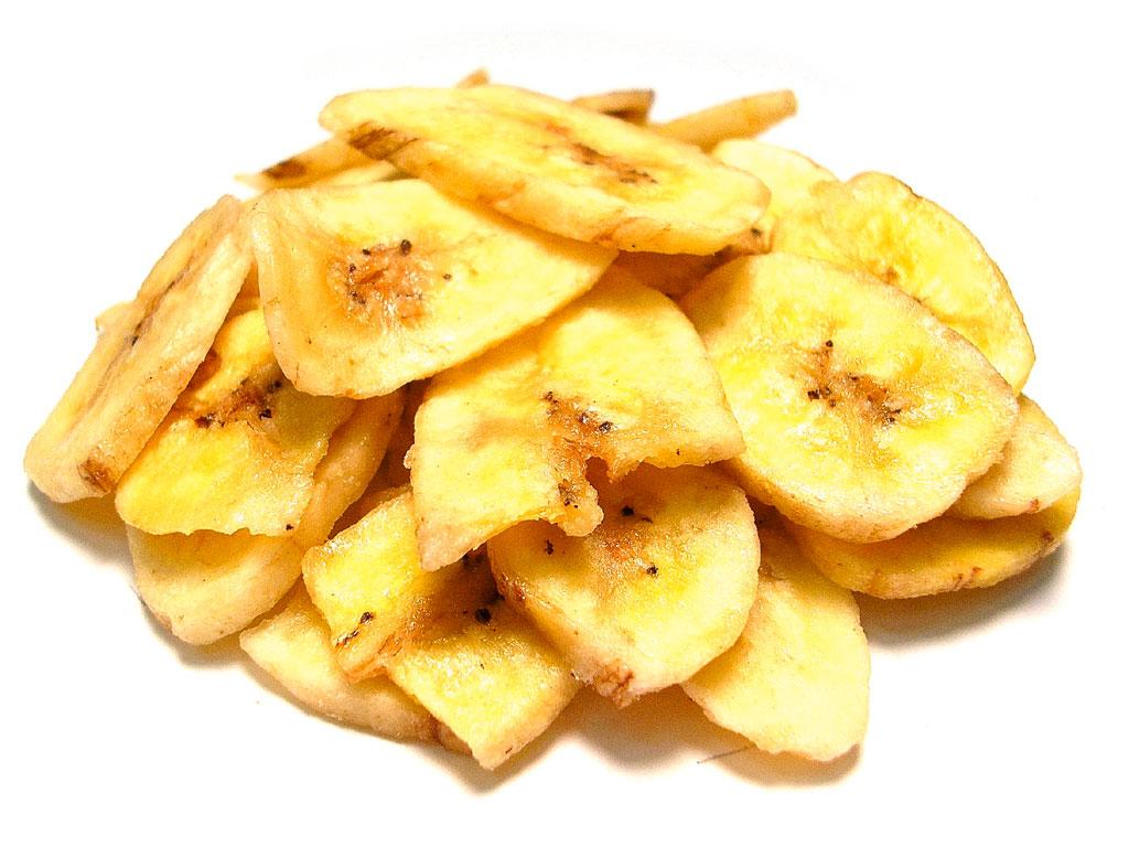Банановые чипсы
