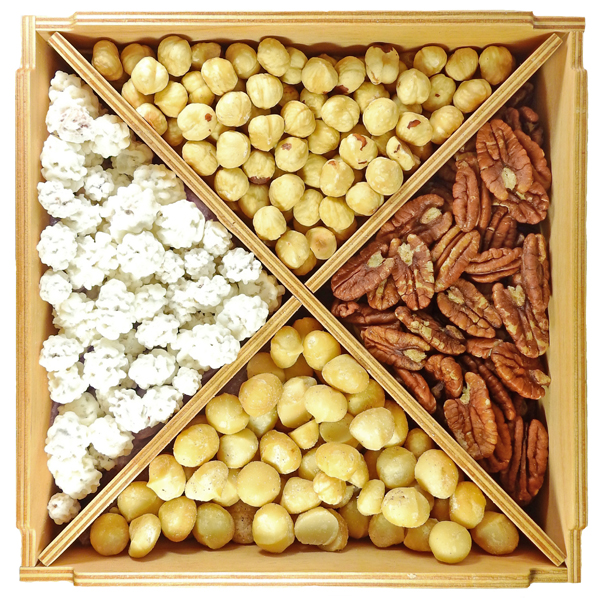 Ореховый набор De Luxe Star