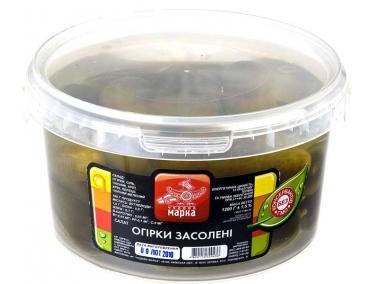 Огурцы соленые 1,2кг
