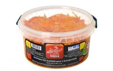 Морковь по-корейски с кунжутом 400г