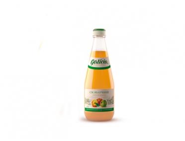Сок Galicia яблочный 330мл