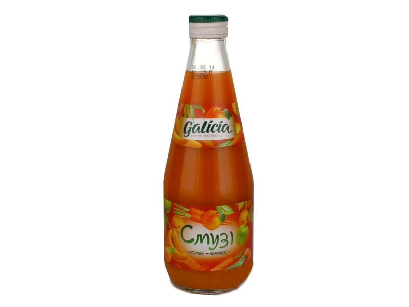 Смузи морковь-абрикос 330мл