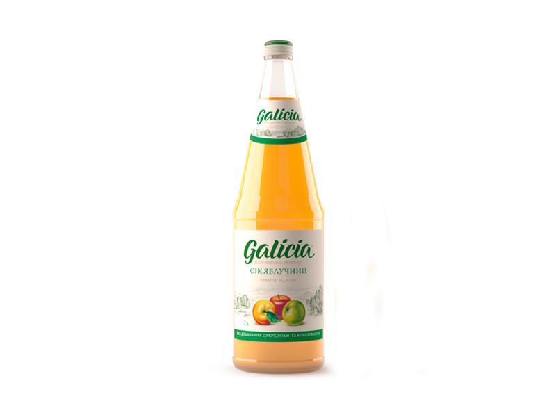Сок Galicia яблочный 1л