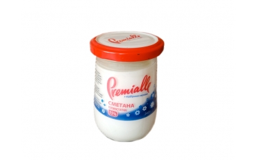 Сметана Premialle термостатная 15% 260г