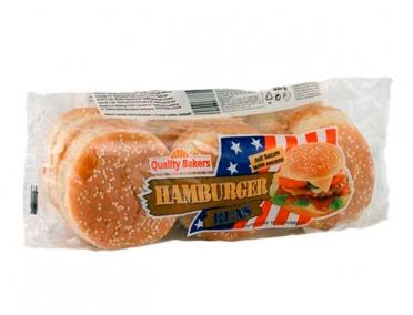 Булки для гамбургеров (6 шт)