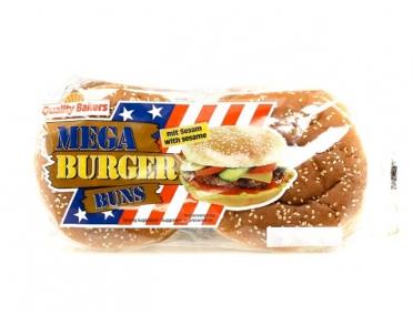 Булки мега-бургер (4 шт)