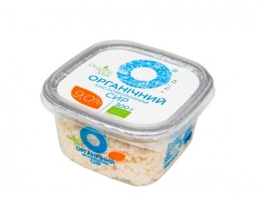 Сыр Органический кисломолочный 9% 300г