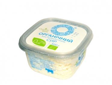 Сыр Органический кисломолочный 0,2% 300г