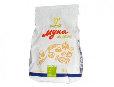 Мука Экород пшеничная органическая 1кг