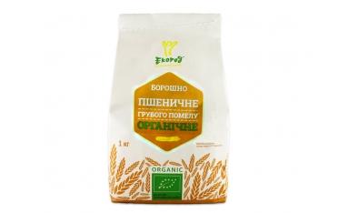 Мука Экород пшеничная грубого помола органическая 1кг