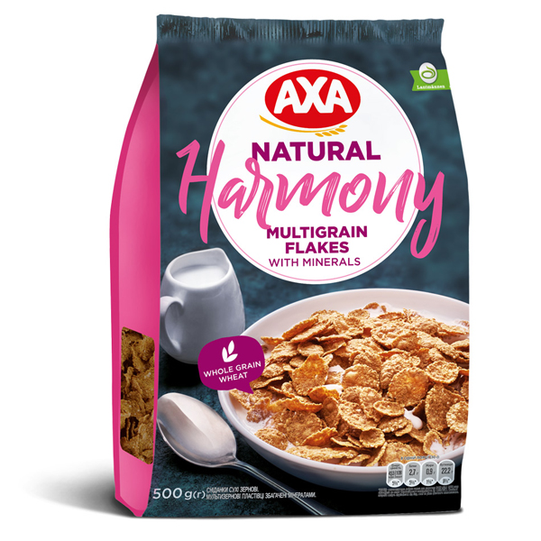 Хлопья мультизерновые AXA Harmony 500г