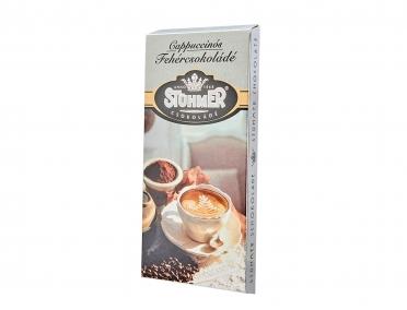 Шоколад Stuhmer белый крем капучино 100г