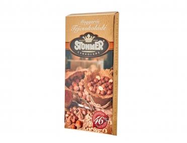 Шоколад Stuhmer молочный с ореховым кремом 100г