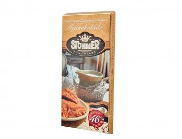 Шоколад Stuhmer молочный с ирисом 100г