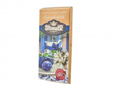 Шоколад Stuhmer молочный со сливовым кремом 100г