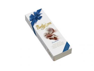 Конфеты Belgian Ракушки Молочный шоколад 65г